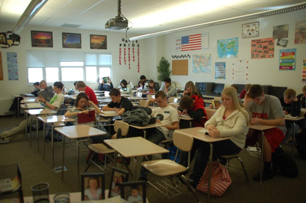 Davis students study hard to receive the prestigious 'A' rating.