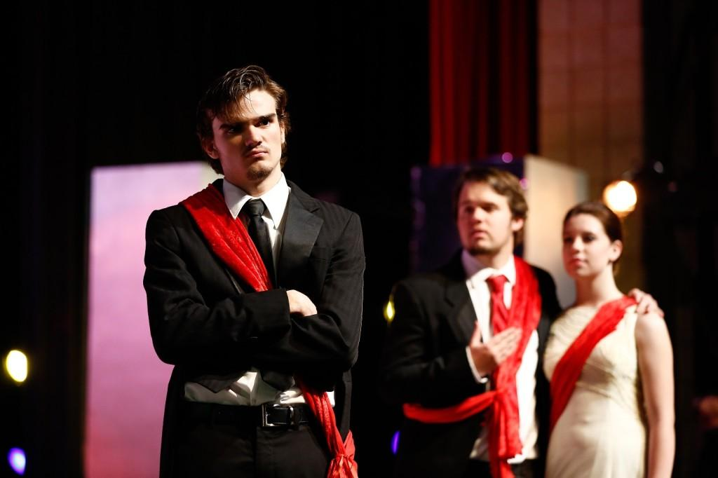 Advanced Theater performs Shakespeare's tragedy Hamlet