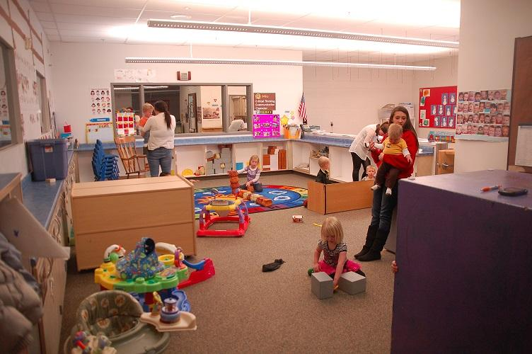 Daycare+students+enjoy+their+role+as+teachers