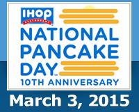 IHOP celebrates National Pancake Day with free pancakes