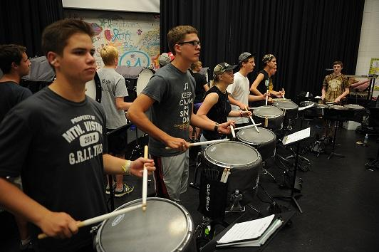 Winter Drumline competes to be the best