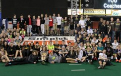 Davis High indoor track starts up