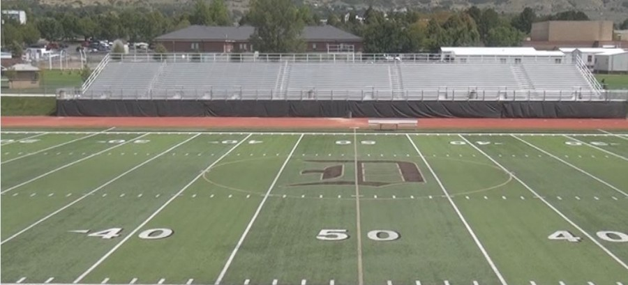 Football field photo for website