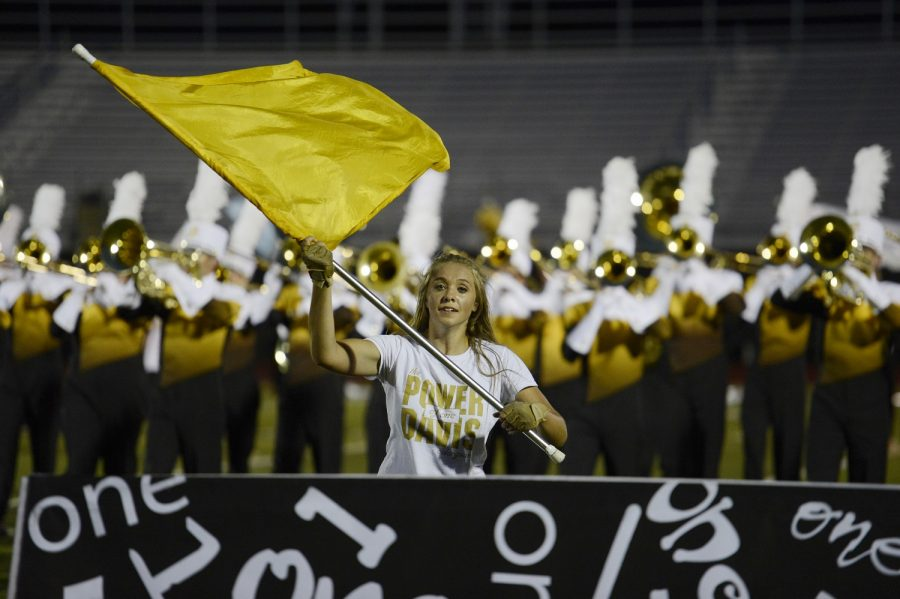 Color+Guard+Adds+Entertainment+for+Marching+Band