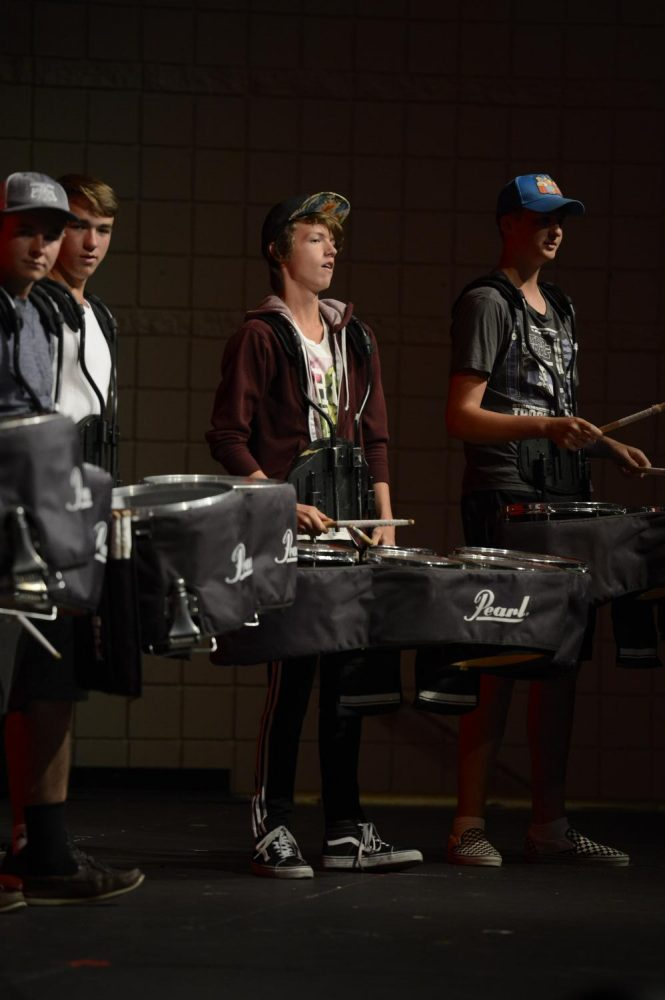Drumline+Participates+in+More+Than+Just+Assemblies