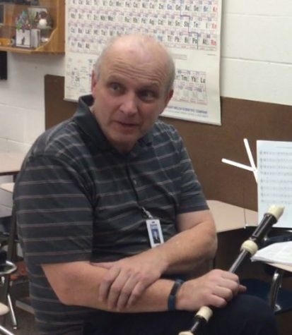 Mr. Stevens Leaves Legacy With Recorder Club