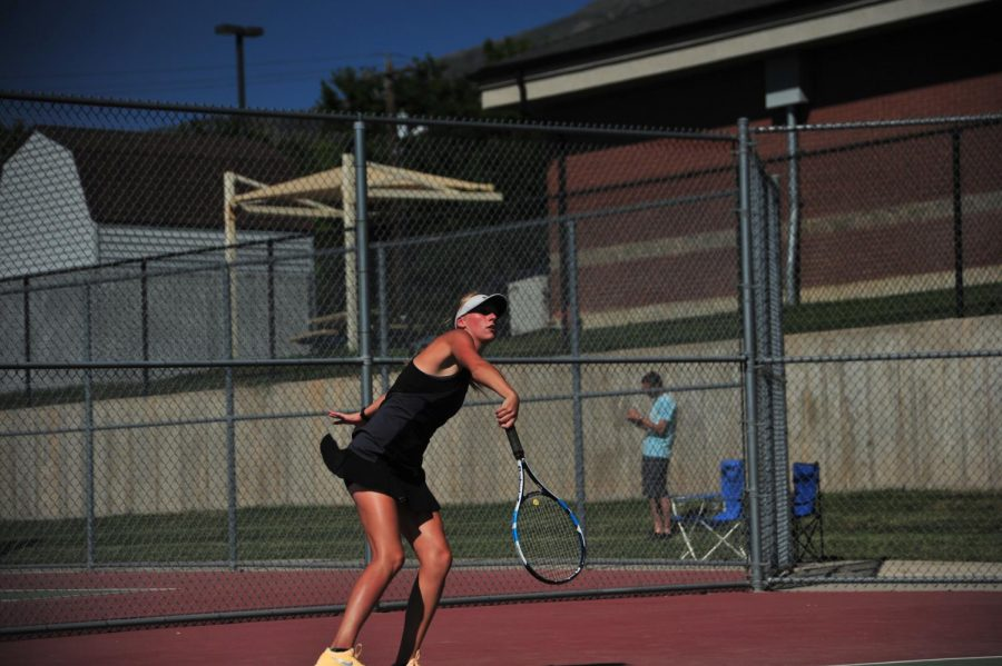 Davis Girl's Tennis Remains Undefeated