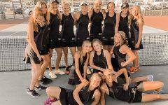 Davis High's Girls Tennis Team Crushes Weber