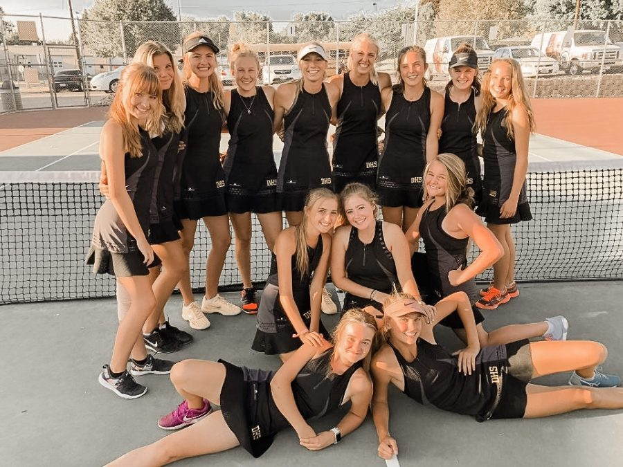 Davis High's Girls Tennis Team Crushes Weber