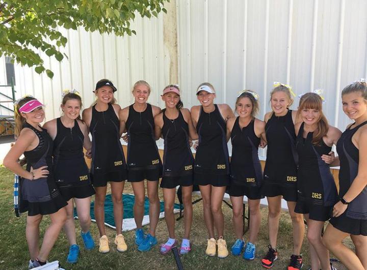 Davis Girls Tennis vs Syracuse