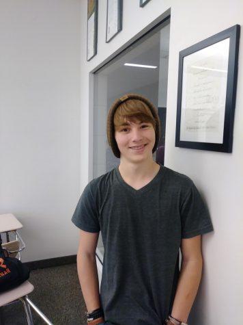 Matt Ralston: The boy in the beanie