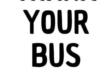 Please, thank your bus drivers