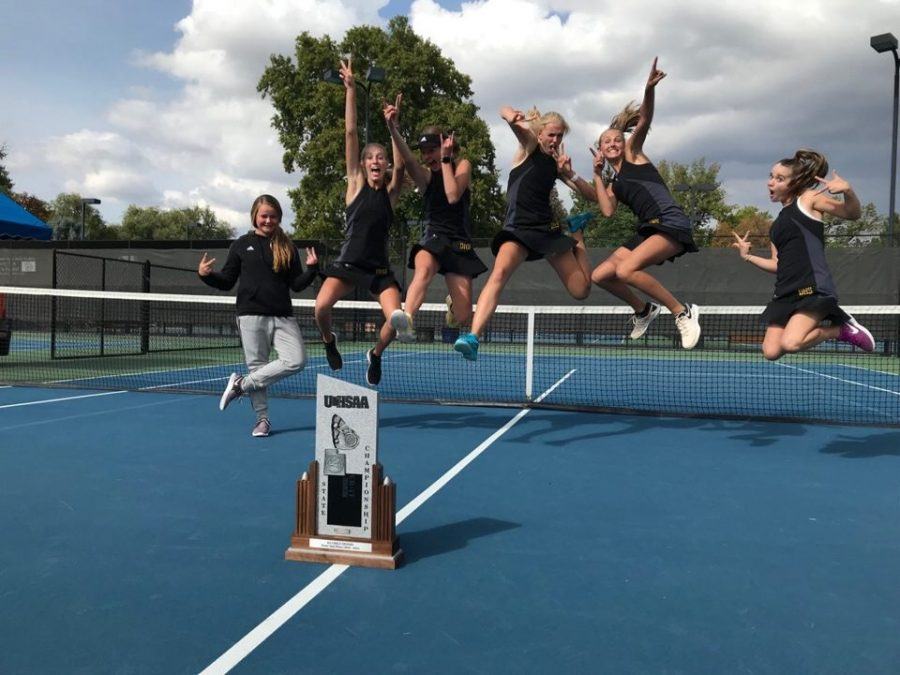 Girls Tennis has Some Unexpected Troubles but Leaves State With 2nd Place