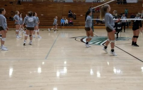 Davis volleyball team wins against Clearfield