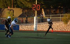 Davis Football secures playoff birth off the leg of Will Ferrin