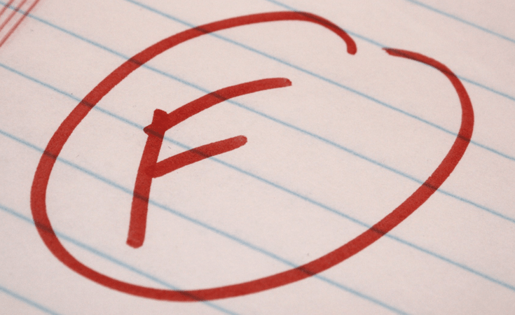the problem with schools putting too much emphasis on grades the dart
