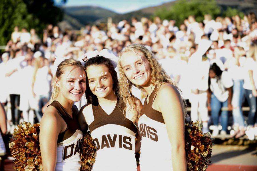 Cheerleaders: The hardest working team at Davis