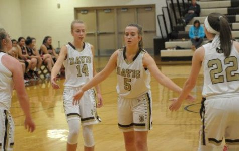 Davis Girls Basketball Dominates Woods Cross
