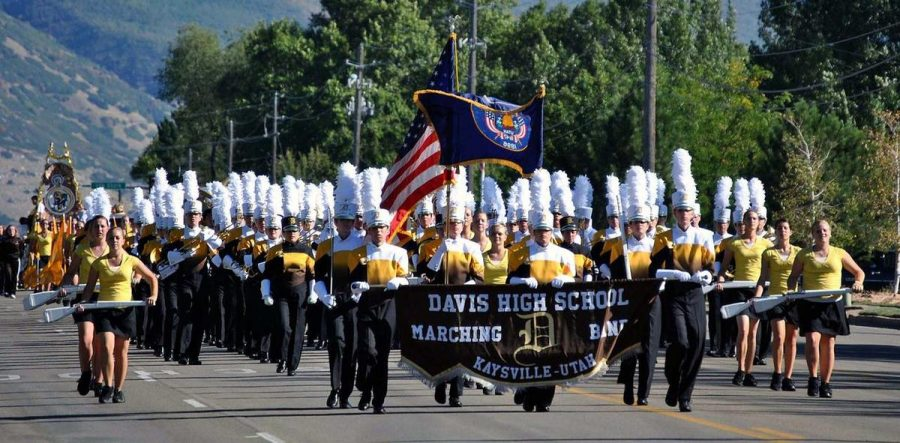 Marching Band takes off to Bands Of America