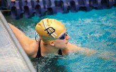 Davis High Swim Team's Region Relays