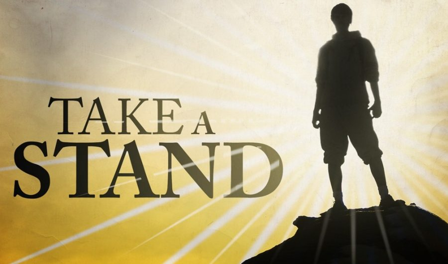 What will you fall for? The importance of taking a stand