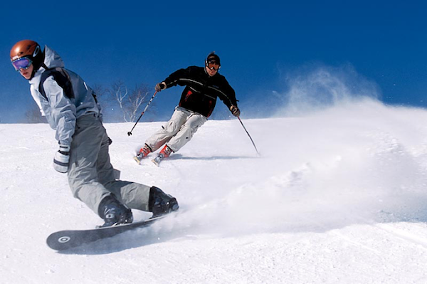Snowboarding VS. Skiing