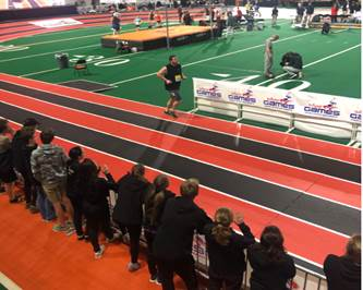 Davis Indoor Track Club: Team unites to overcome adversity at Simplot Games