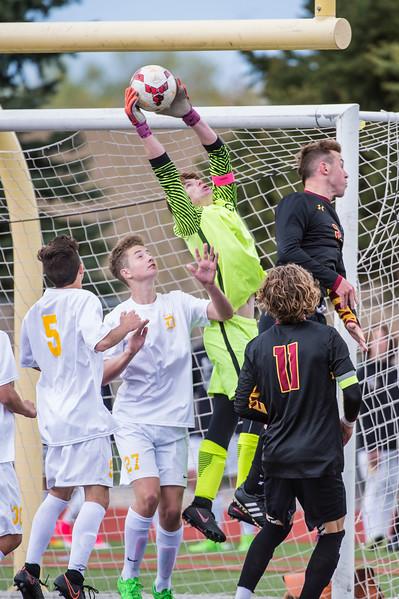 Boys Soccer at Viewmont