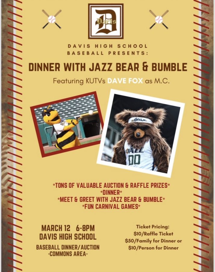 Boys Baseball: March 12th Dinner and Auction Night