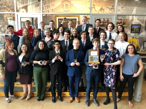 Davis High debaters succeed at National Qualifiers