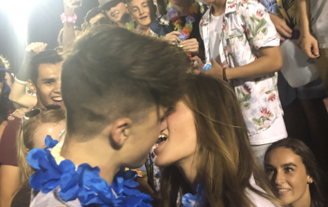 Kissing at Davis Football Games