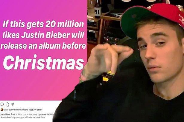 Justin Biebers' Christmas Album