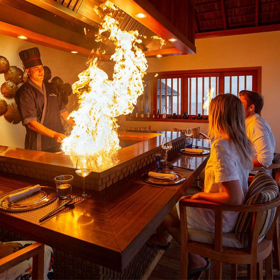 Teppanyaki, the restaurant of dreams