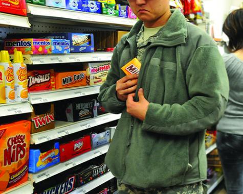 Shoplifting thief caught in kaysville just last week