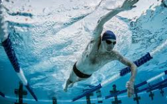 Davis High swim meet at Box Elder