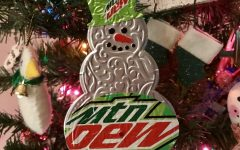 Davis High Band's Mountain Dew Christmas Tree