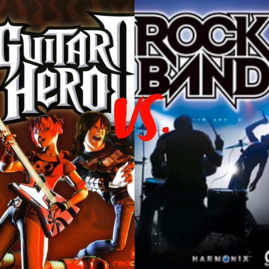 Did Rock Band put Guitar Hero out of buisness?