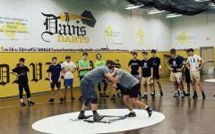 Davis High wrestling takes on state