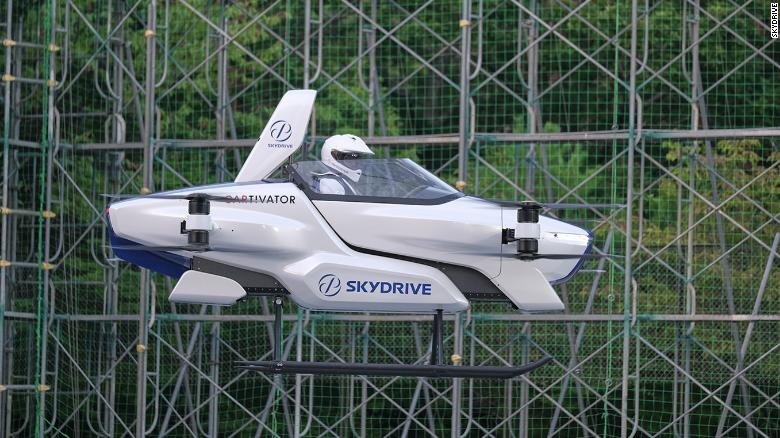Japan's Flying Car of Tomorrow