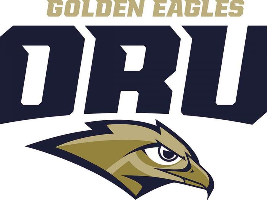 Oral Roberts new logo they unveiled in 2017.