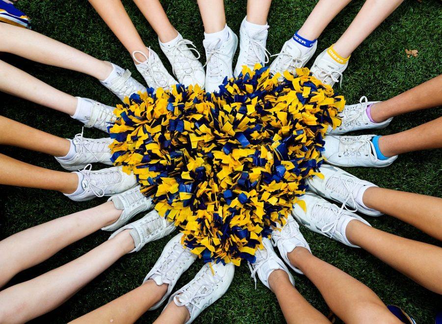 Squad Cheerleading Tennis Shoes Heart Cheer