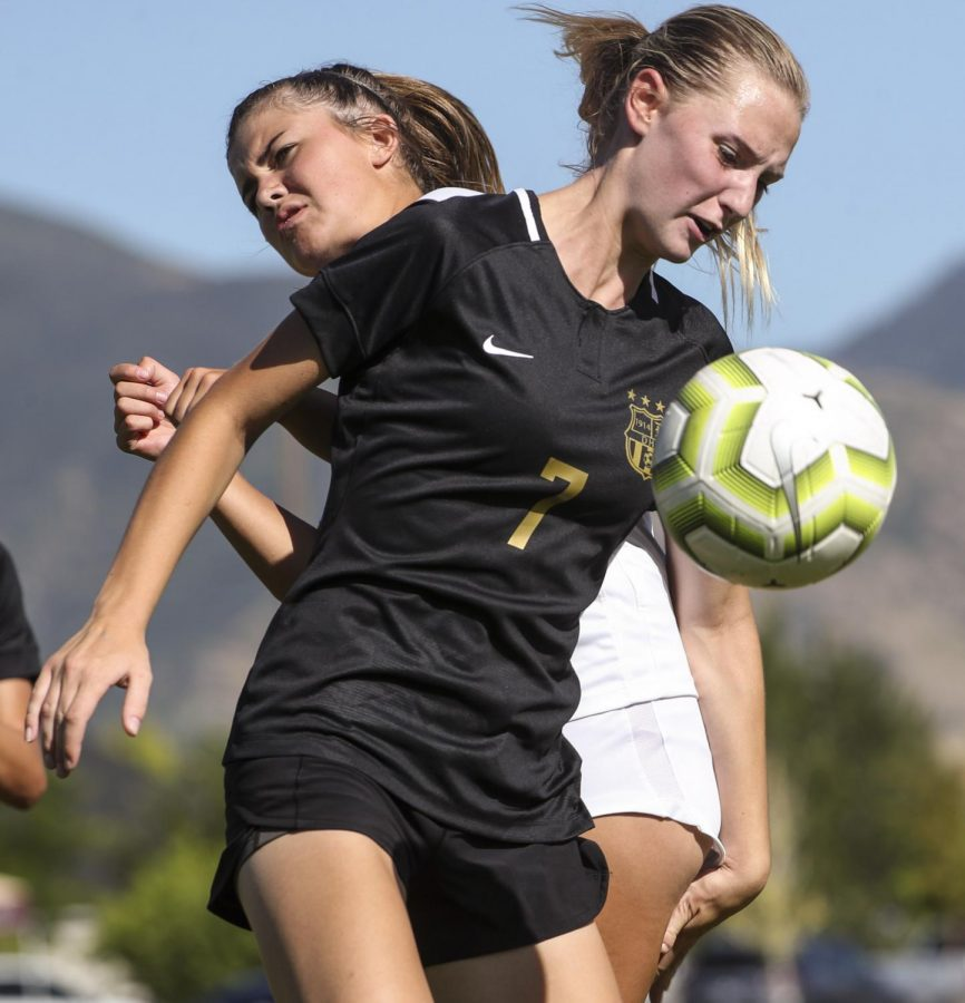 The Davis High lady darts soccer stunned as the Lancers ruin their perfect season